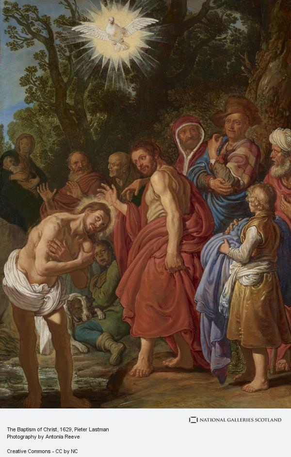 Pieter Lastman, The Baptism of Christ