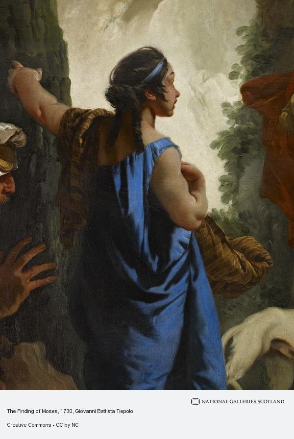 Giovanni Battista Tiepolo, The Finding of Moses (probably early 1730s)