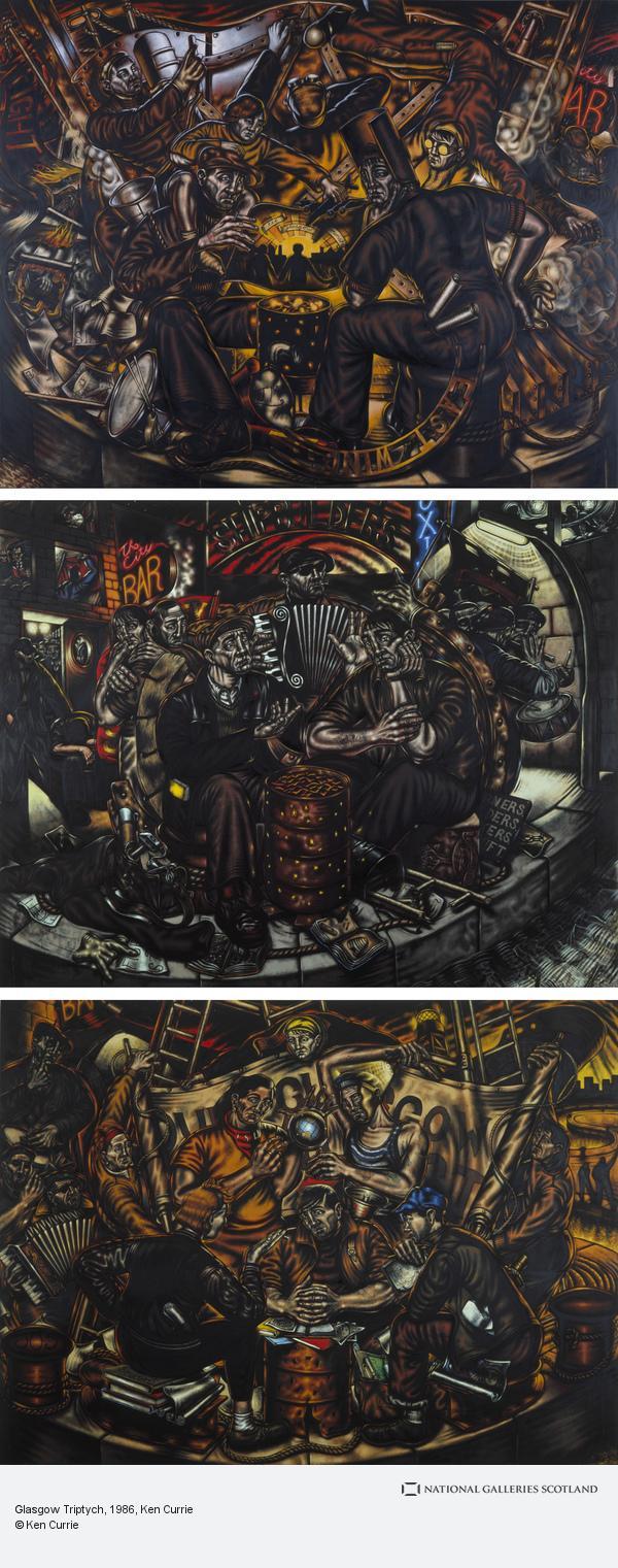 Ken Currie, Glasgow Triptych (1986)