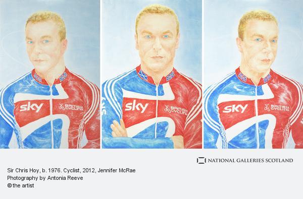 Jennifer McRae, Sir Chris Hoy, MBE b. 1976. Cyclist