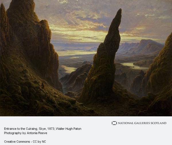 Waller Hugh Paton, Entrance to the Cuiraing, Skye