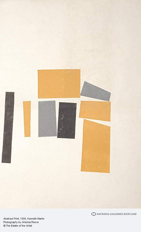 Kenneth Martin, Abstract Print