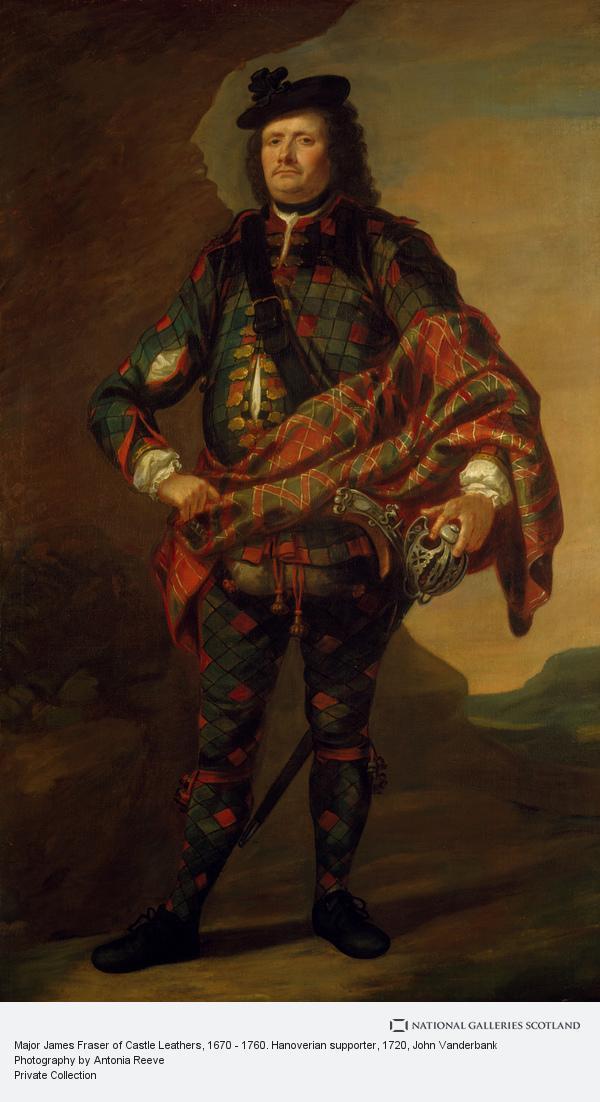 John Vanderbank, Major James Fraser of Castle Leathers, 1670 - 1760. Hanoverian supporter