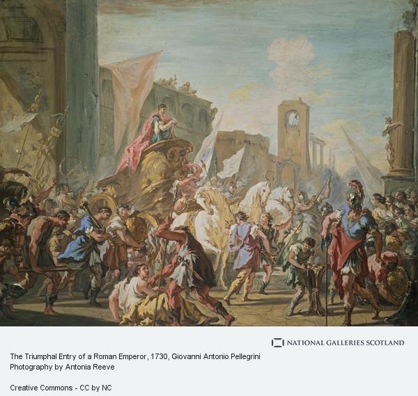 Giovanni Antonio Pellegrini, The Triumphal Entry of a Roman Emperor