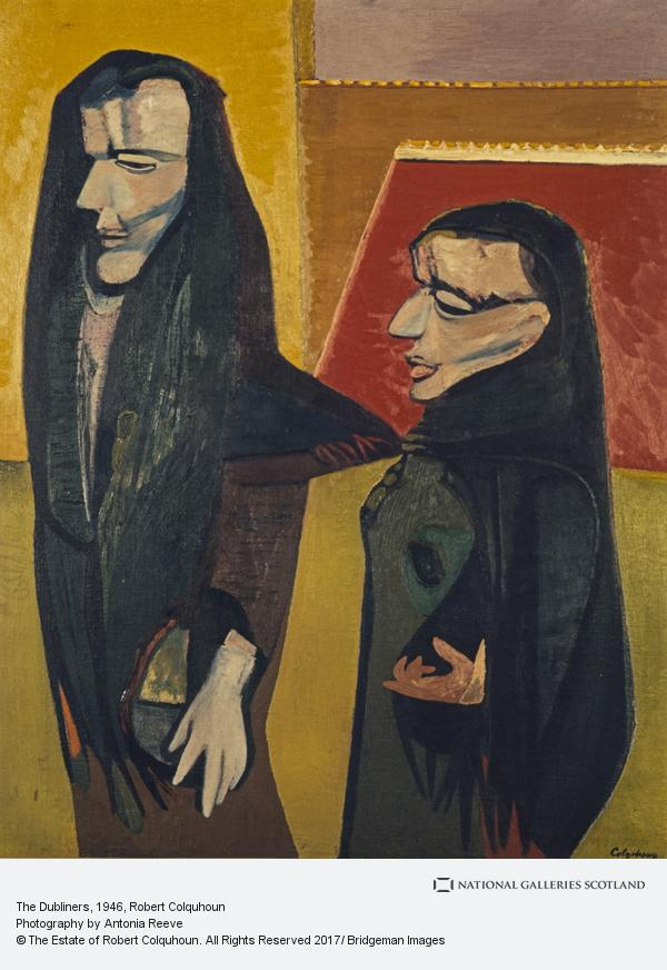 Robert Colquhoun, The Dubliners, 1946. Image: National Galleries Scotland. (Not in exhibition)