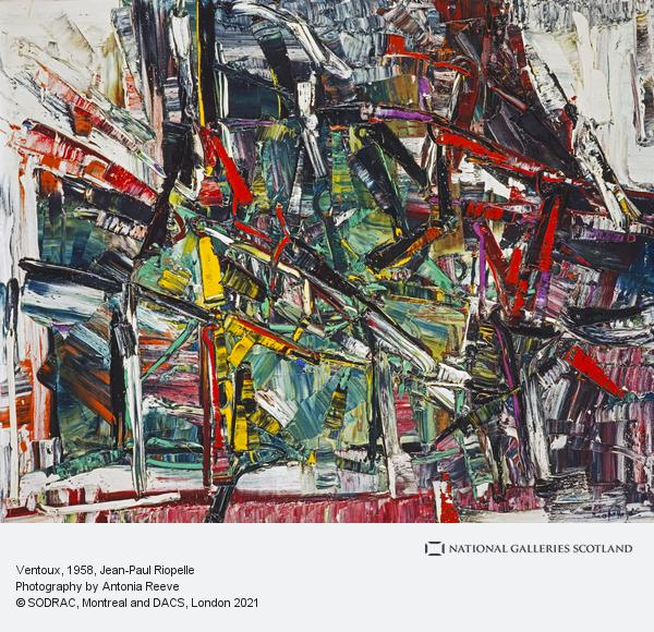 Jean-Paul Riopelle, Ventoux