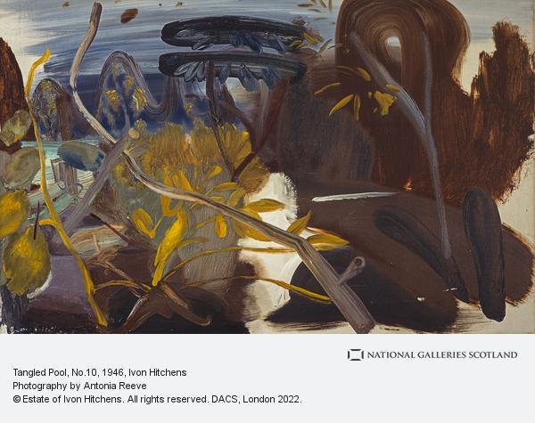 Ivon Hitchens, Tangled Pool, No.10