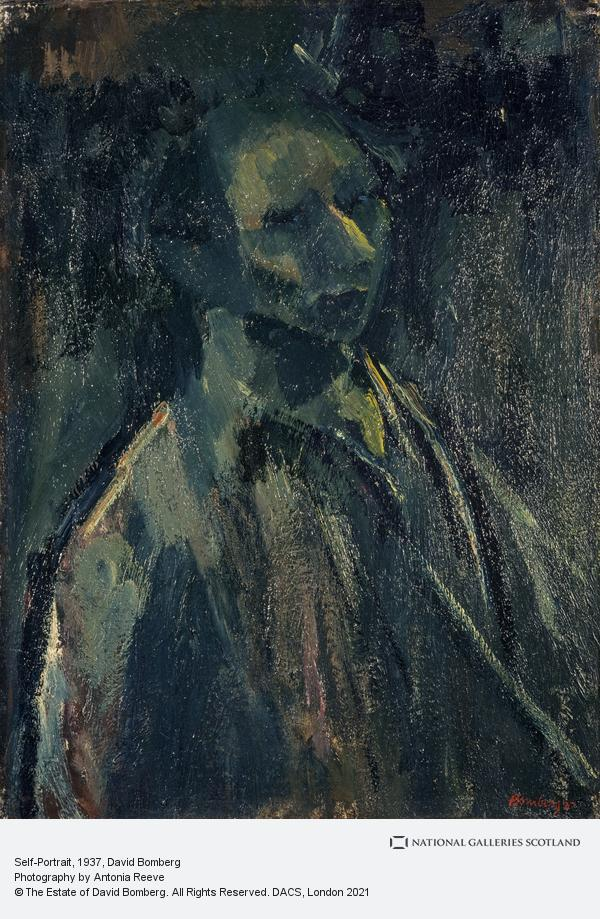 David Bomberg, Self-Portrait