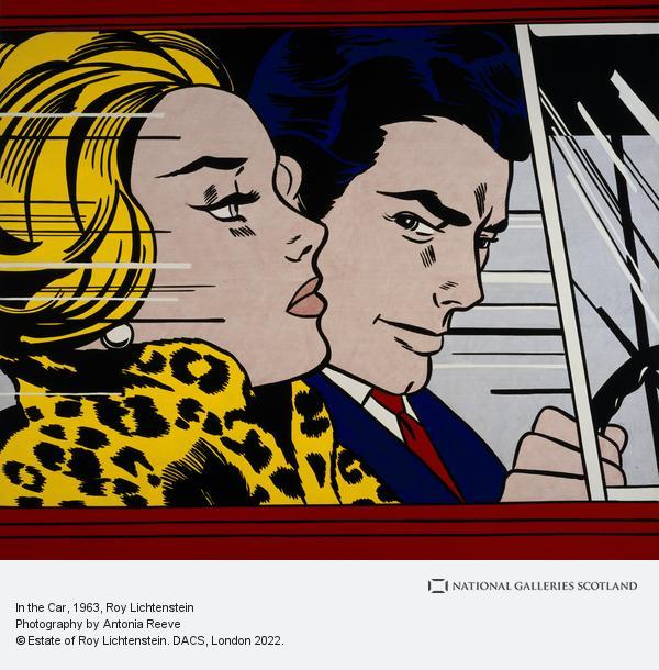 Roy Lichtenstein, In the Car