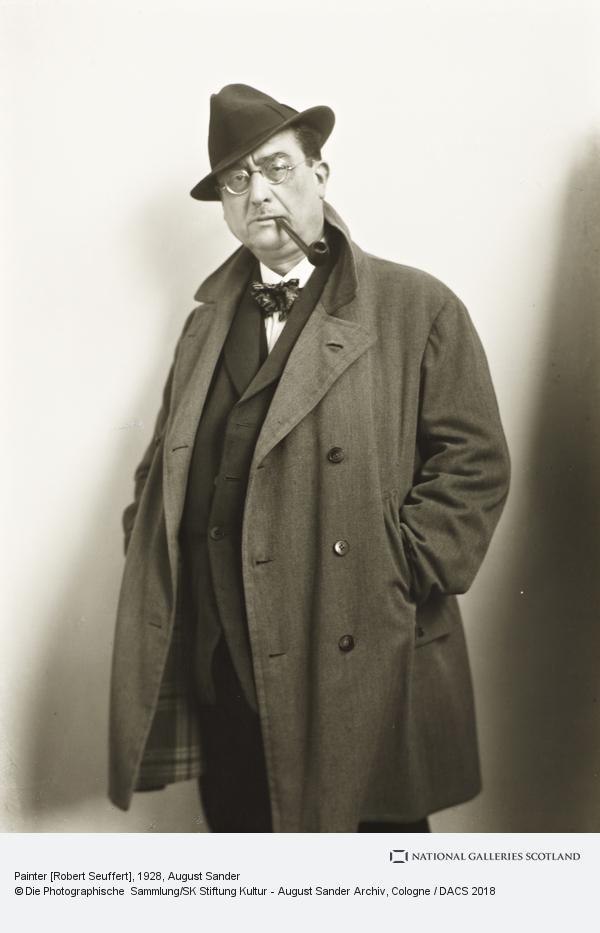 August Sander, Painter [Robert Seuffert], 1928 (1928)
