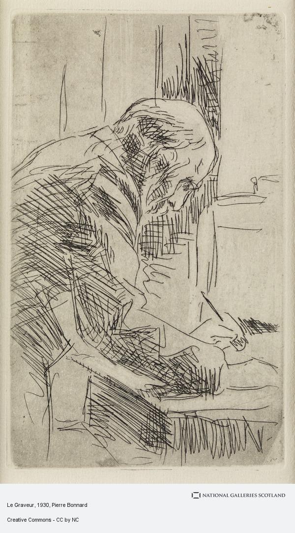 Pierre Bonnard, Le Graveur