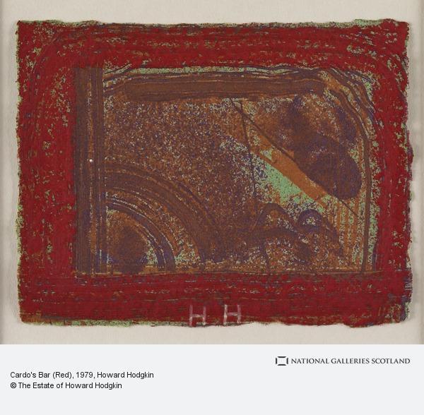 Howard Hodgkin, Cardo's Bar (Red)