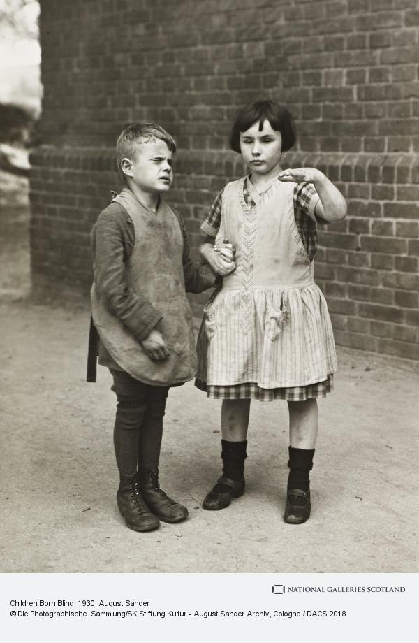 August Sander, Children Born Blind, c.1930 (about 1930)