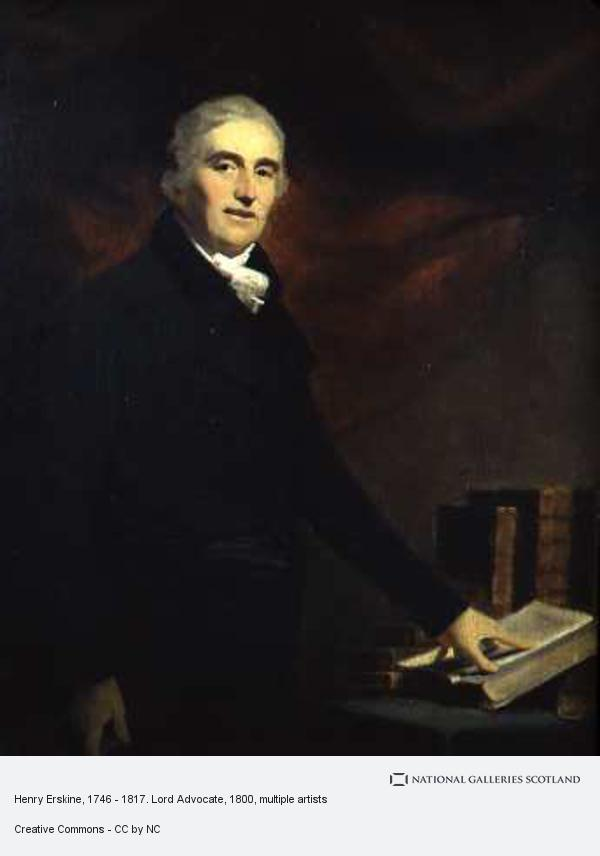 William Yellowlees, Henry Erskine, 1746 - 1817. Lord Advocate
