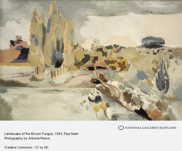 Paul Nash, Landscape of the Brown Fungus