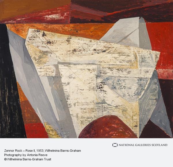 Wilhelmina Barns-Graham, Zennor Rock – Rose II