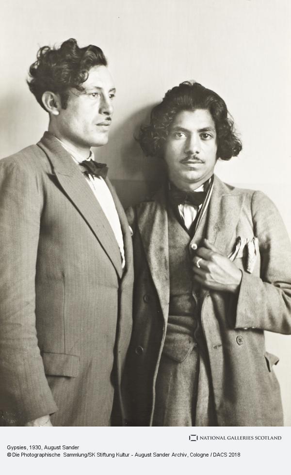 August Sander, Gypsies, c. 1930 (about 1930)