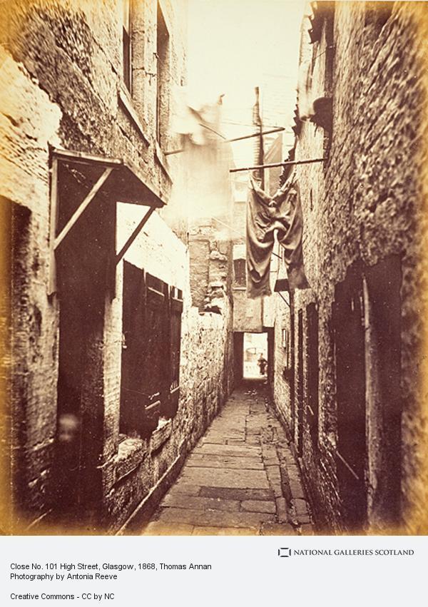 Thomas Annan, Close No. 101 High Street, Glasgow (1868 - 1871)