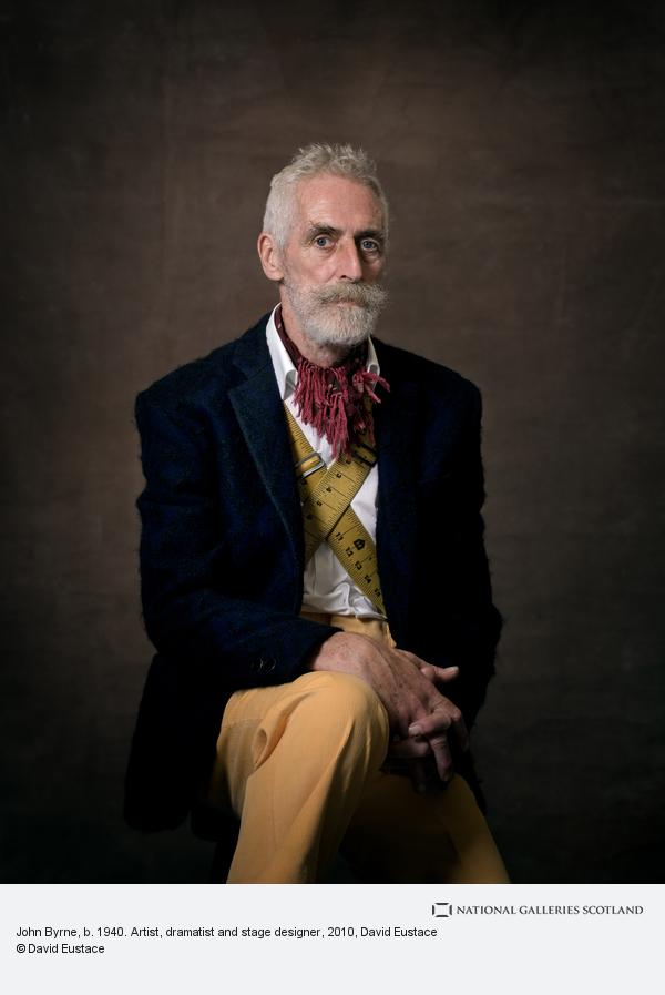 David Eustace, John Byrne, b. 1940. Artist, dramatist and stage designer