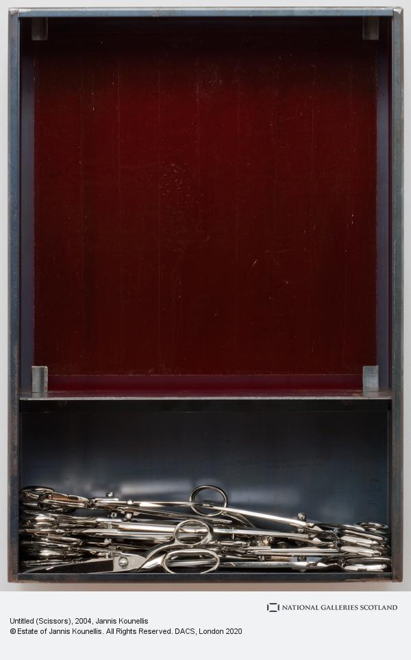 Jannis Kounellis, Untitled (Scissors) (2004)