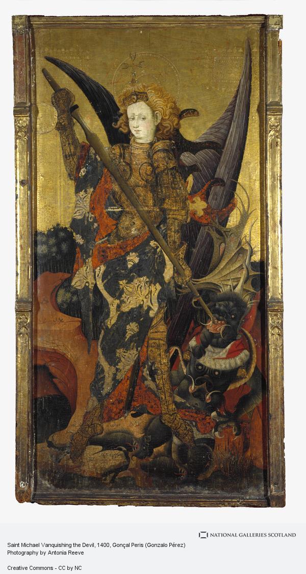 Gonçal Peris (Gonzalo Perez), Saint Michael Vanquishing the Devil