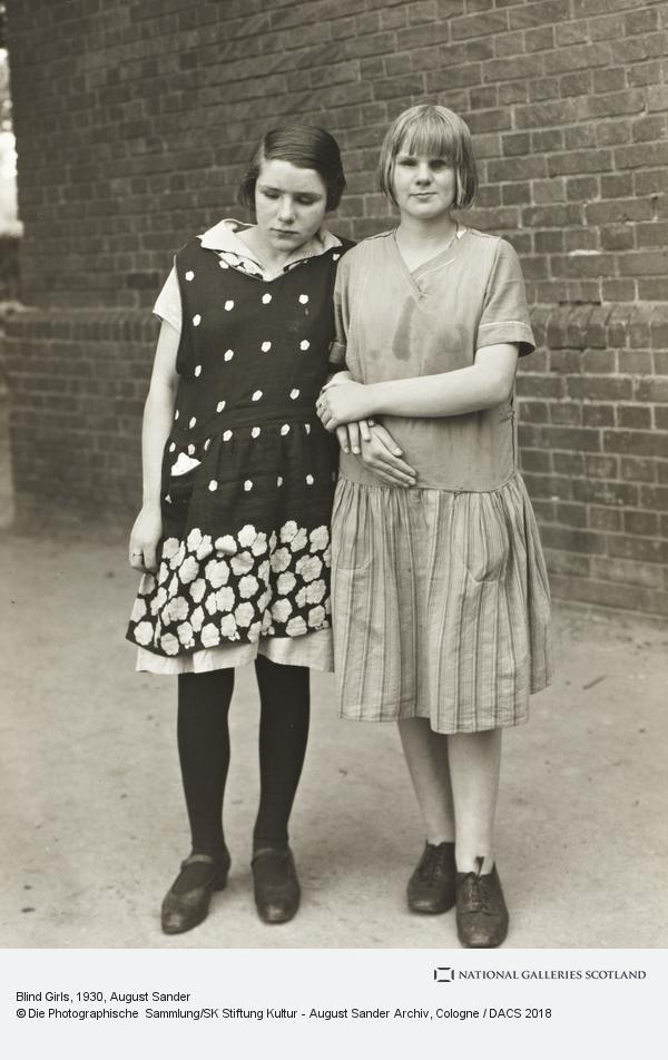 August Sander, Blind Girls, c.1930 (about 1930)