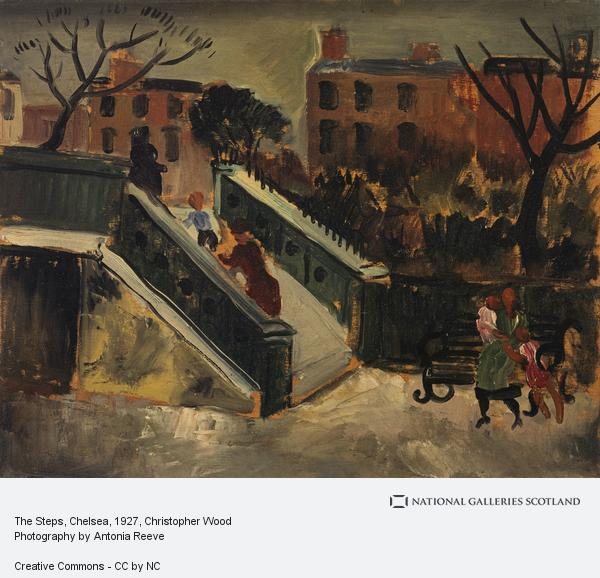 Christopher Wood, The Steps, Chelsea