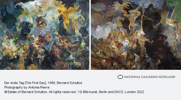 Bernard Schultze, Der erste Tag [The First Day]