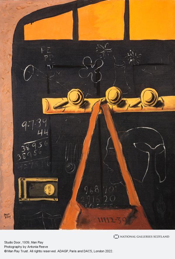 Man Ray, Studio Door