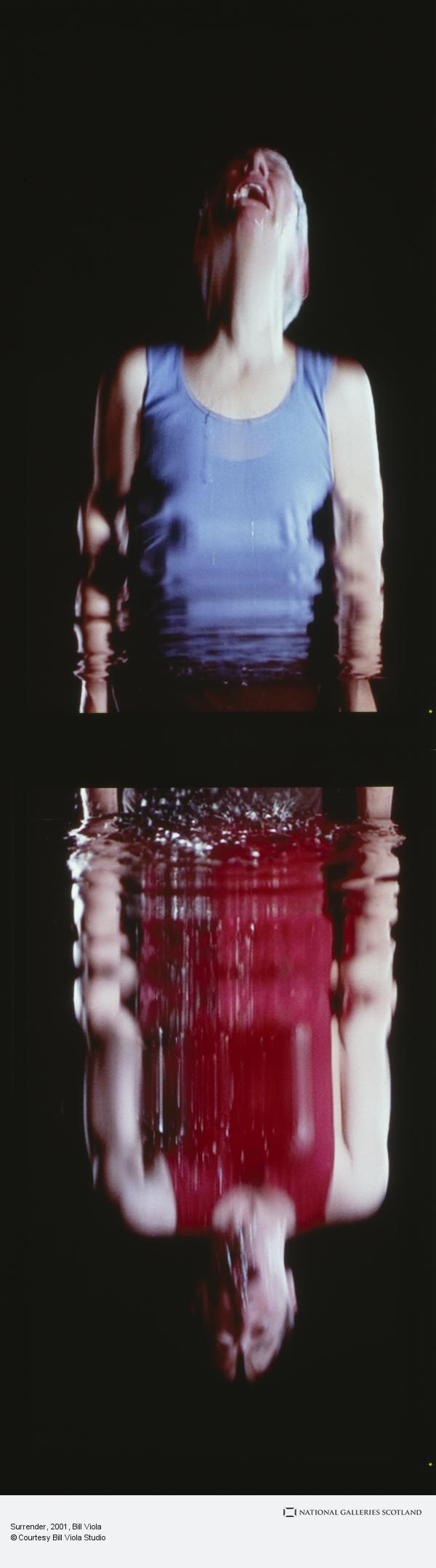 Bill Viola, Surrender (2001)
