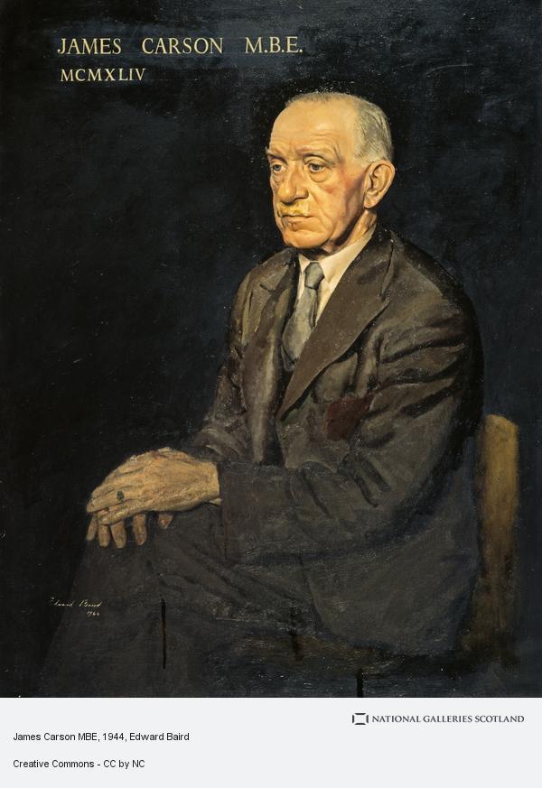 Edward MacEwan Baird, James Carson MBE (1944)