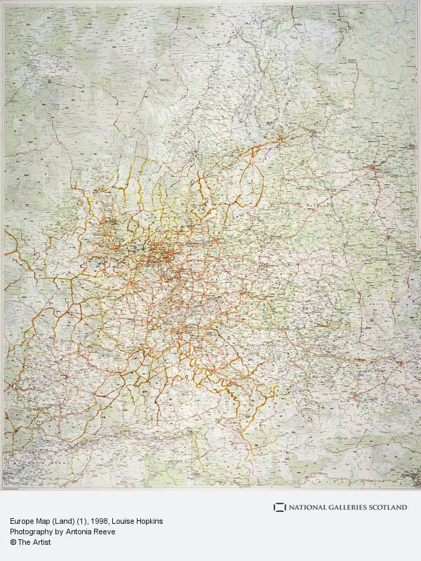 Louise Hopkins, Europe Map (Land) (1)