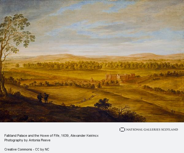 Alexander Keirincx, Falkland Palace and the Howe of Fife (About 1639)