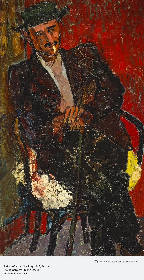 Bet Low, Portrait of a Man Smoking (1945)