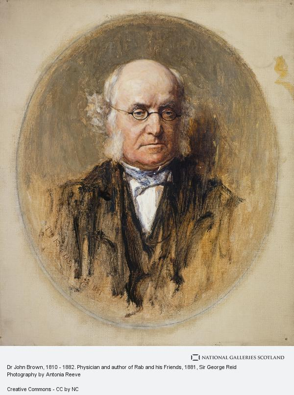 Sir George Reid, Dr John Brown, 1810 - 1882. Physician and author of Rab and his Friends (1881)