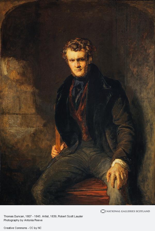 Robert Scott Lauder, Thomas Duncan, 1807 - 1845. Artist