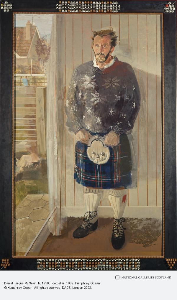 Hunphrey Ocean, Daniel Fergusson McGrain, b. 1950. Footballer