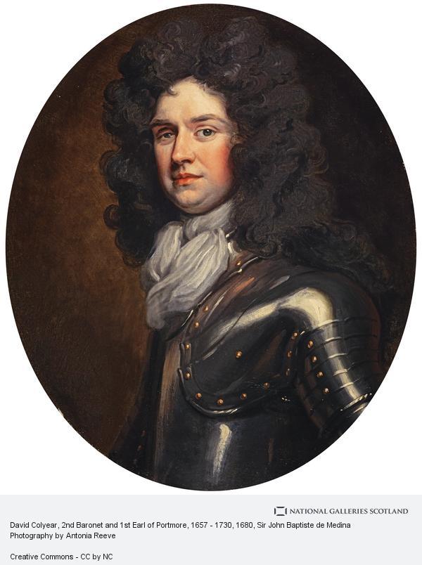 Sir John Baptiste de Medina, David Colyear, 2nd Baronet and 1st Earl of Portmore, 1657 - 1730