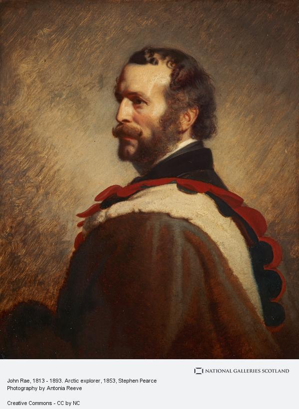 Stephen Pearce, John Rae, 1813 - 1893. Arctic explorer