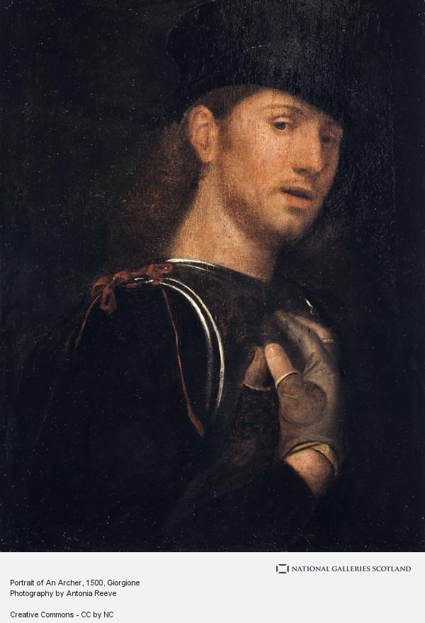 Giorgione, Portrait of An Archer