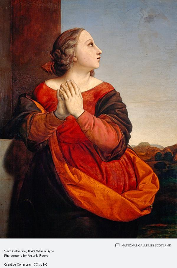 William Dyce, Saint Catherine
