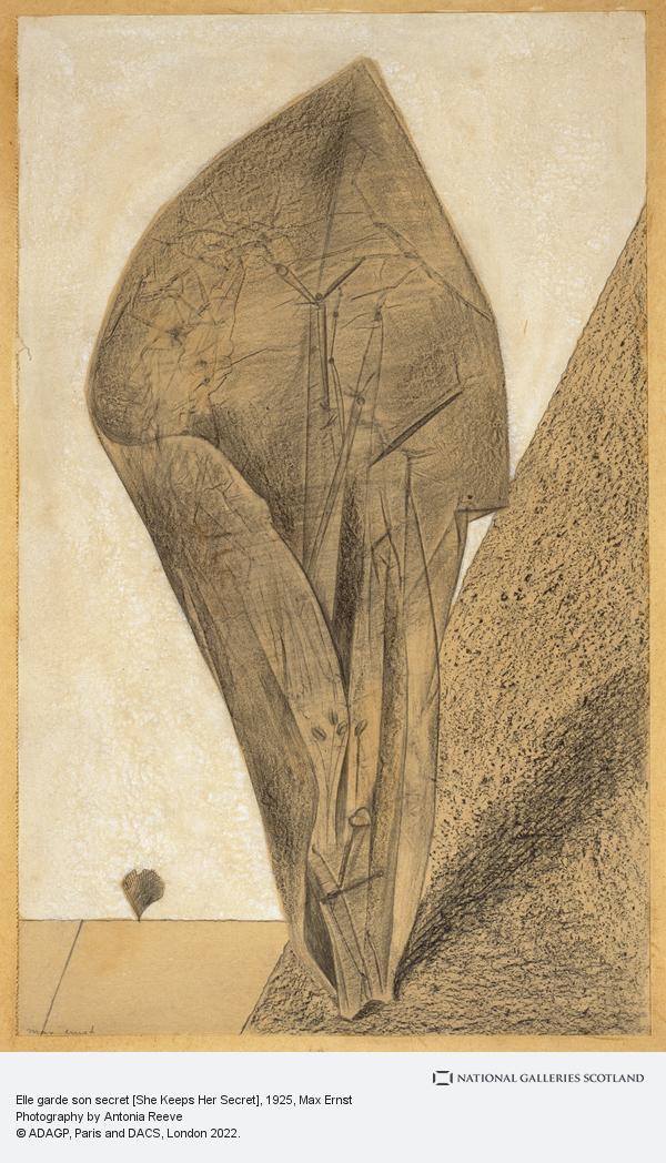 Max Ernst, Elle garde son secret [She Keeps Her Secret]
