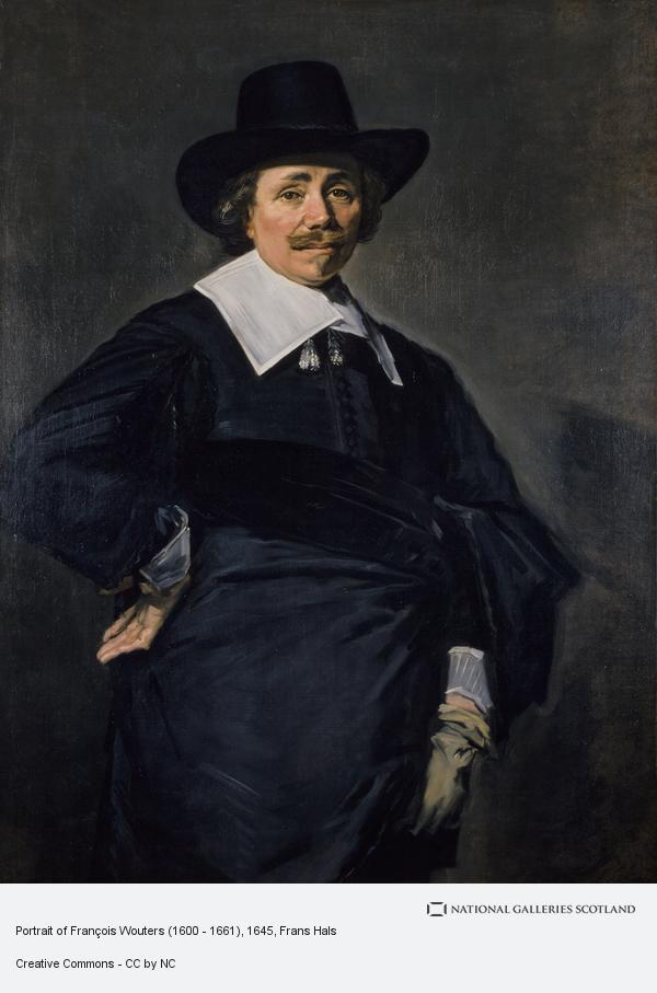 Frans Hals, Portrait of François Wouters (1600 - 1661)