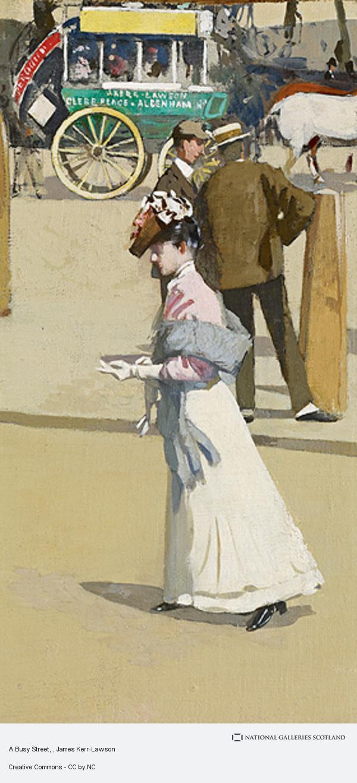 James Kerr-Lawson, A Busy Street