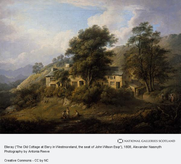Alexander Nasmyth, Elleray ('The Old Cottage at Elery in Westmoreland, the seat of John Wilson Esqr')