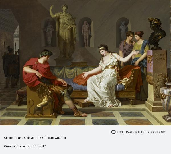 Louis Gauffier, Cleopatra and Octavian