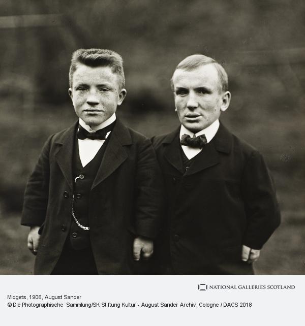 August Sander, Midgets, 1906-14 (1906 - 1914)