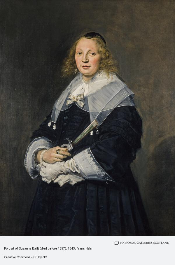Frans Hals, Portrait of Susanna Baillij (died before 1697)