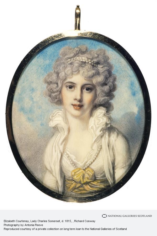 Richard Cosway, Elizabeth Courtenay, Lady Charles Somerset, d. 1815