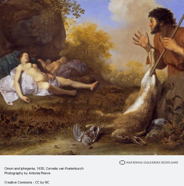 Cornelis van Poelenburgh, Cimon and Iphegenia